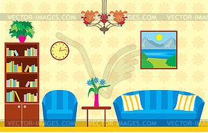 Living Room Clip Art.