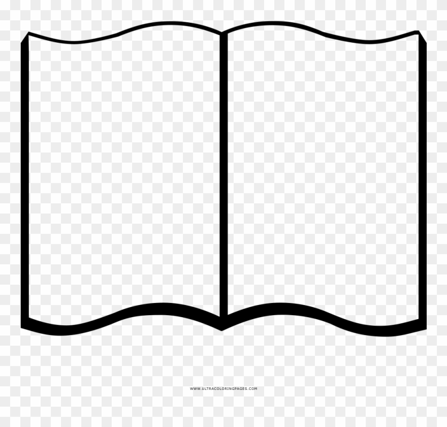 Open Book Picture Freeuse Stock Black And White.