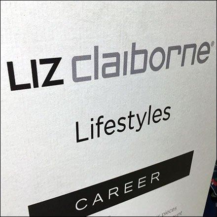 INDEX: Liz Claiborne Retail Fixtures.