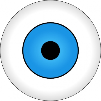 Cow eyes clipart.