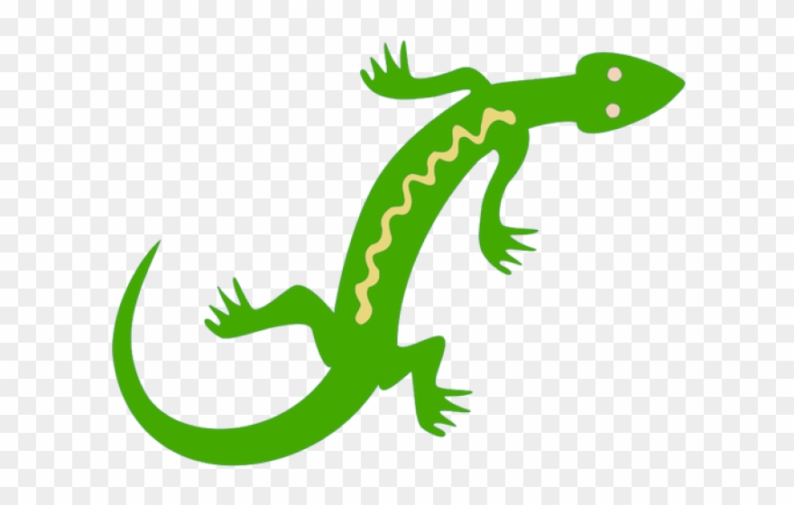 Lizard Clipart Jungle.