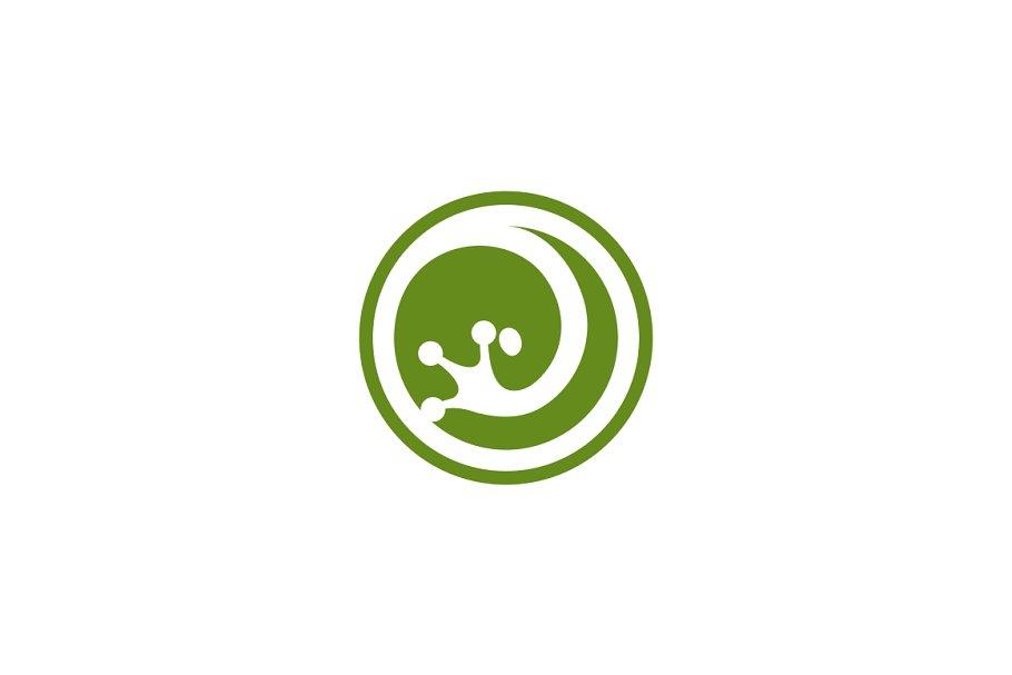 Lizard Logo Template.