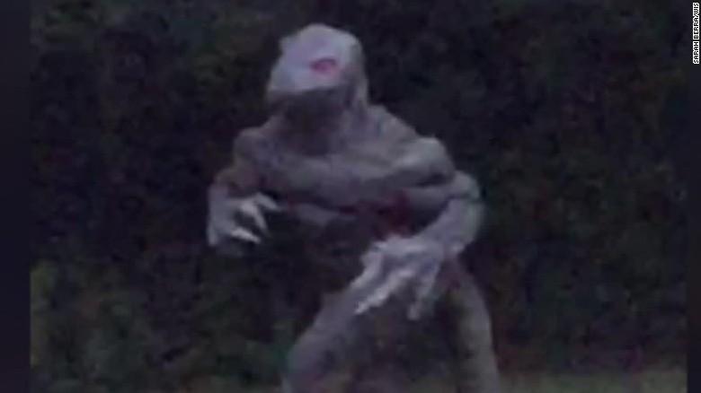 Is Lizard Man back?.
