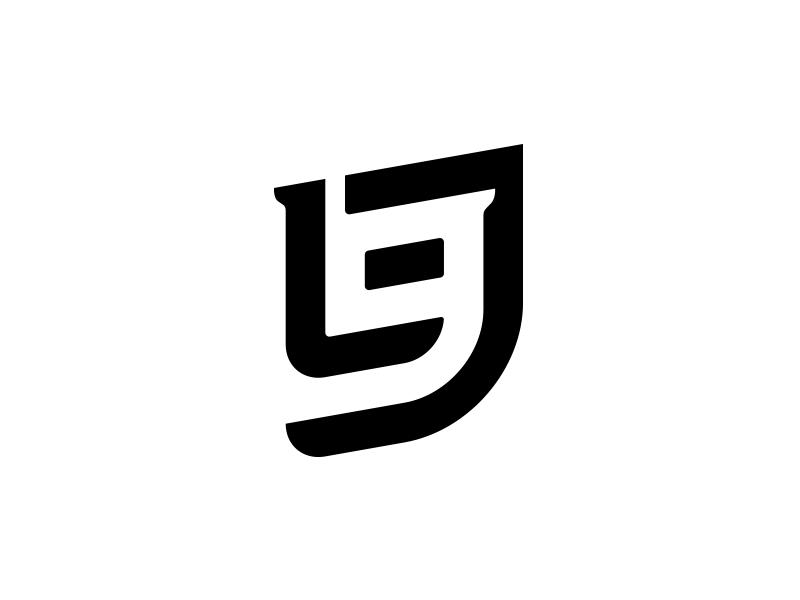 LJ + 9 Logo by Walker Martin on Dribbble.