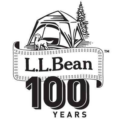 L.L. Bean 100th Anniversary Logo Illustration on RISD Portfolios.