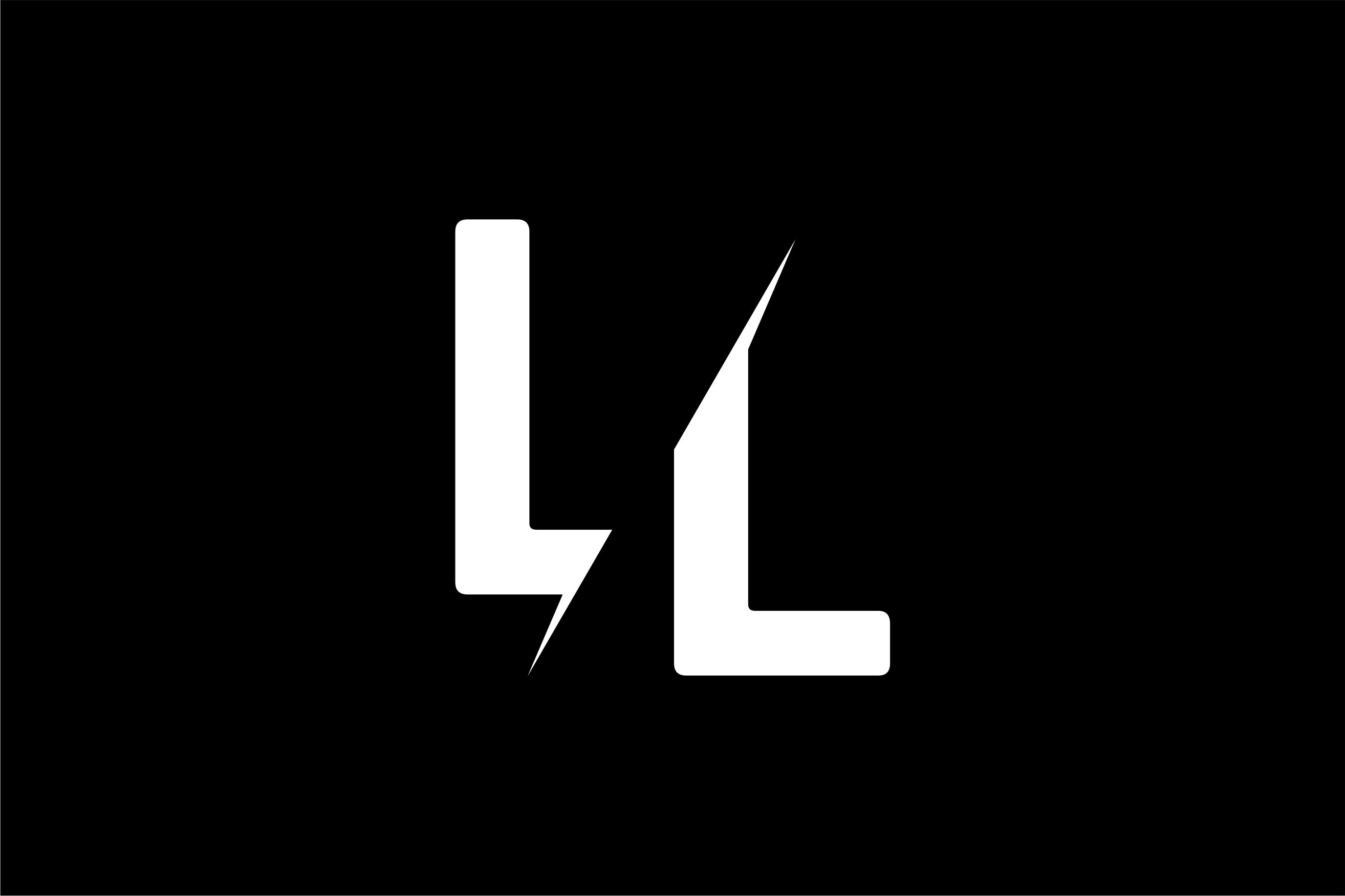 Monogram LL Logo Design.