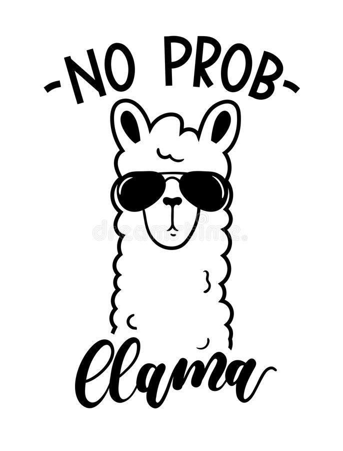 1027 Llama free clipart.