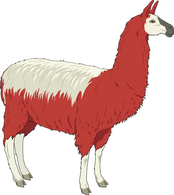 Free to Use & Public Domain Llama Clip Art.