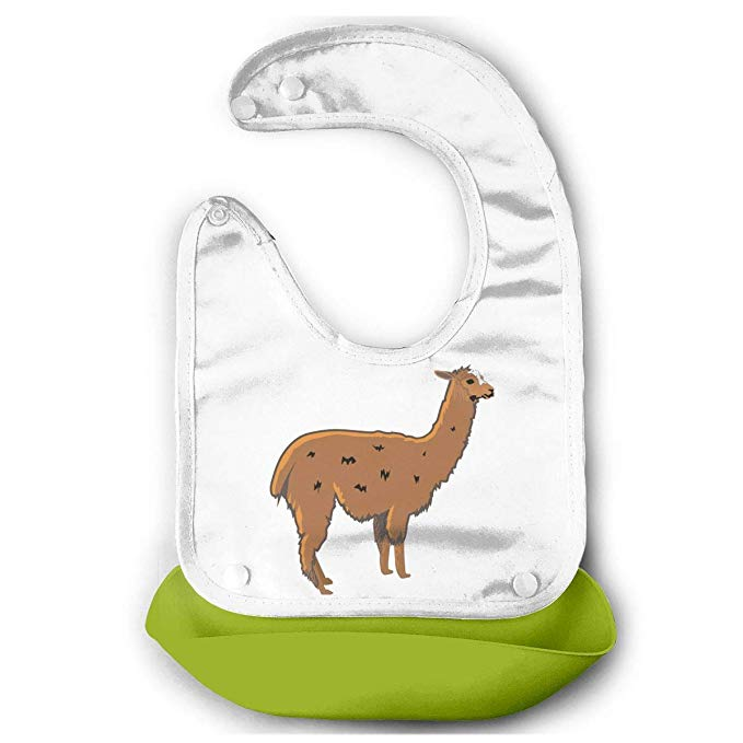 Amazon.com: Cute Kid Infant Baby Bibs Soft Llama Clipart.