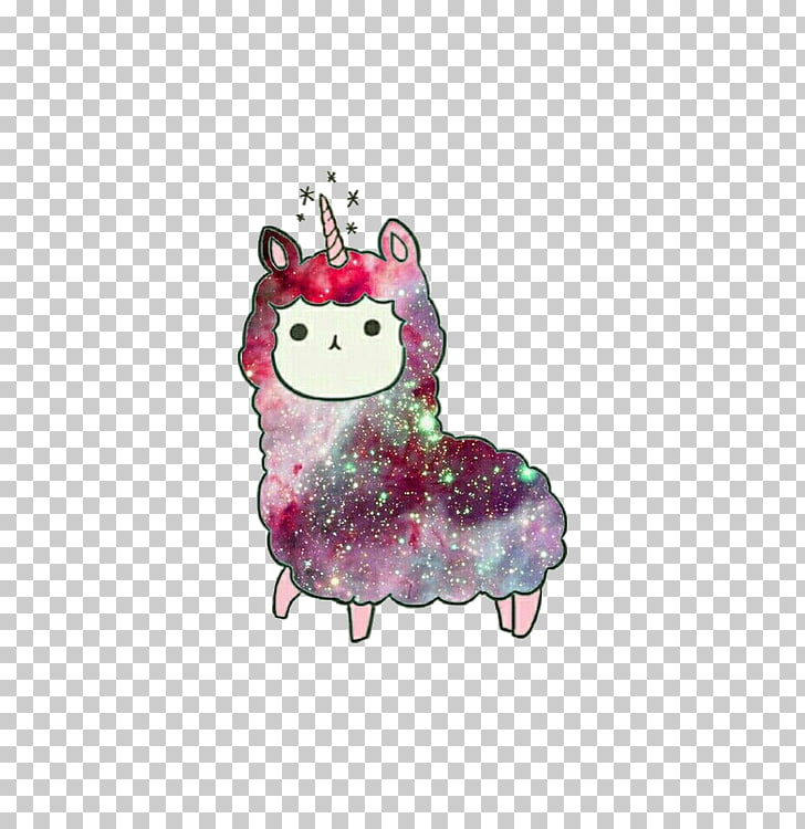 Alpaca Llama Kavaii Drawing, eyes unicorn PNG clipart.