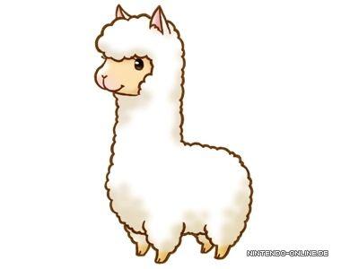 69 Cute Llama free clipart.