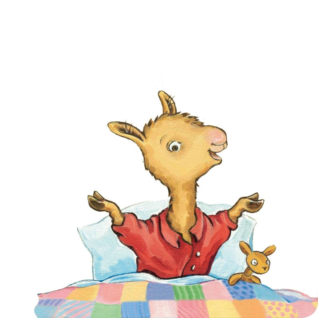 Llama llama red pajama head clipart.