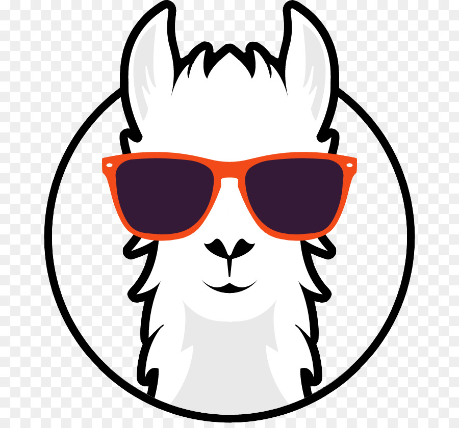 Sunglasses Clipart Llama: best transparent & png cliparts (20).