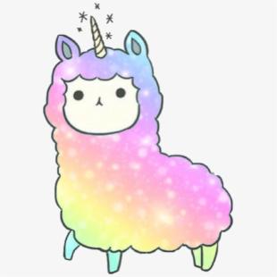 kawaii #llama #llamacorn Dedicated To @kandygamergirl.