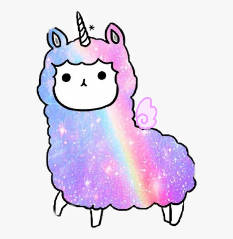Transparent Cute Llama Clipart.