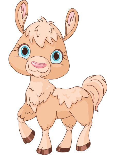 Llamas Clipart Cute.