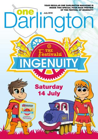 One Darlington July 2018 by One Darlington.