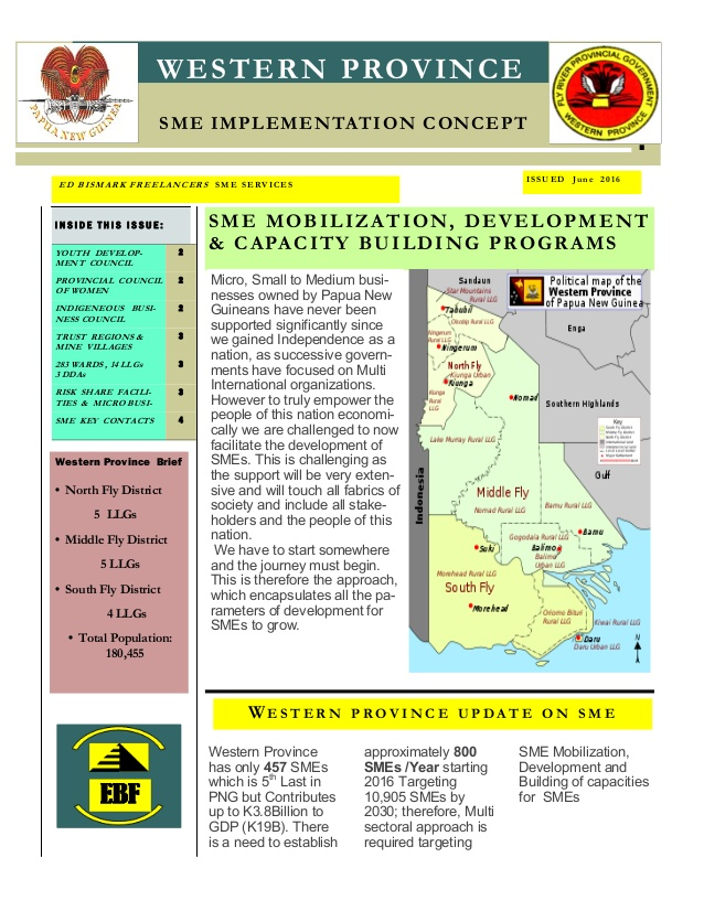 Sme program concept .western province png.