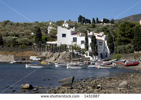 Dalis House Port Lligat Cadaques Catalonia Stock Photo 1451987.