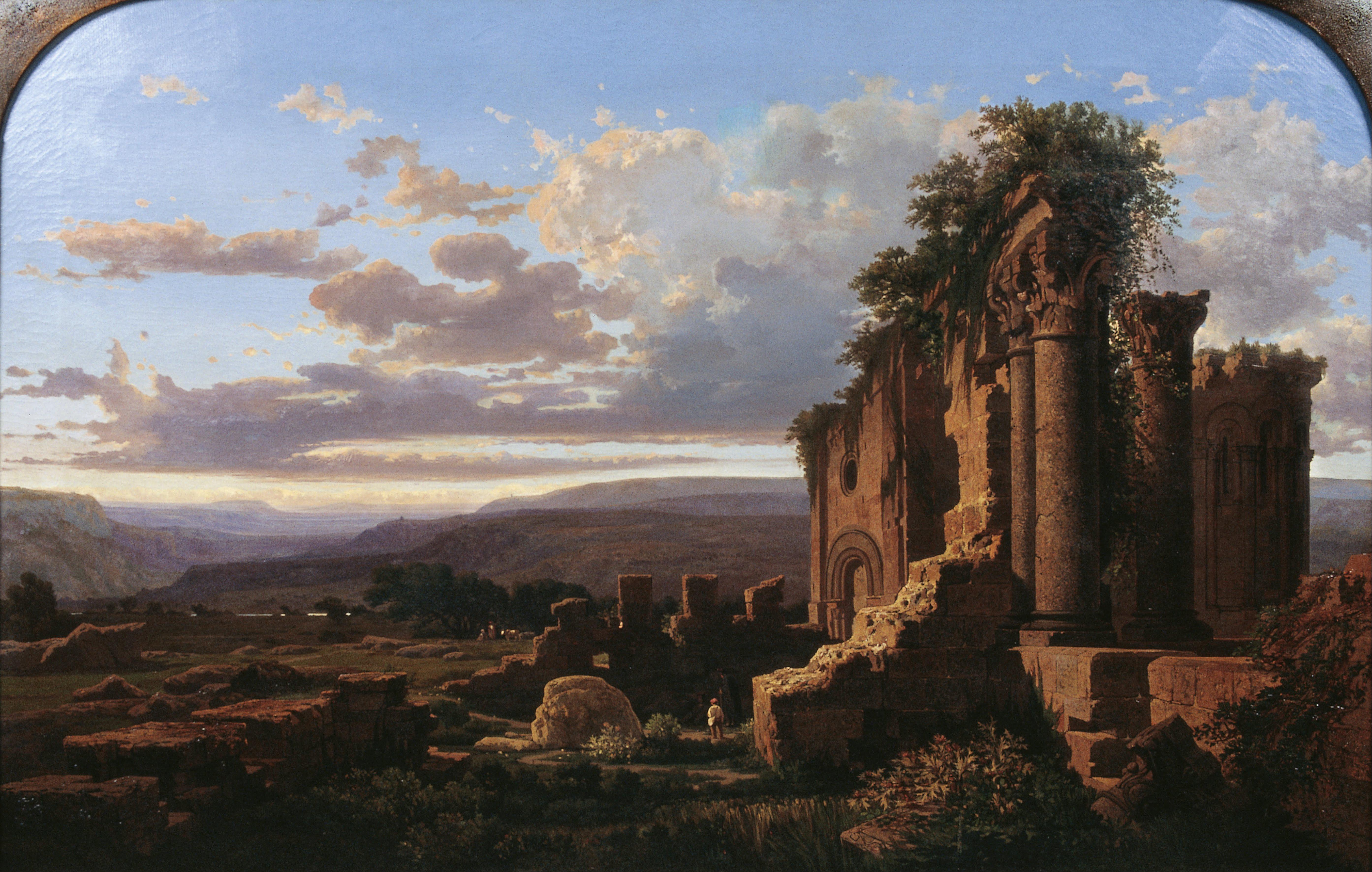 Ruinas (Luis Rigalt).