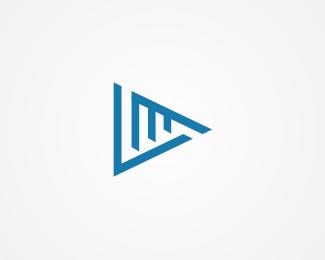 LM Letter Play Logo Designed by danoen.