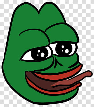 Lmao Pepe transparent background PNG clipart.