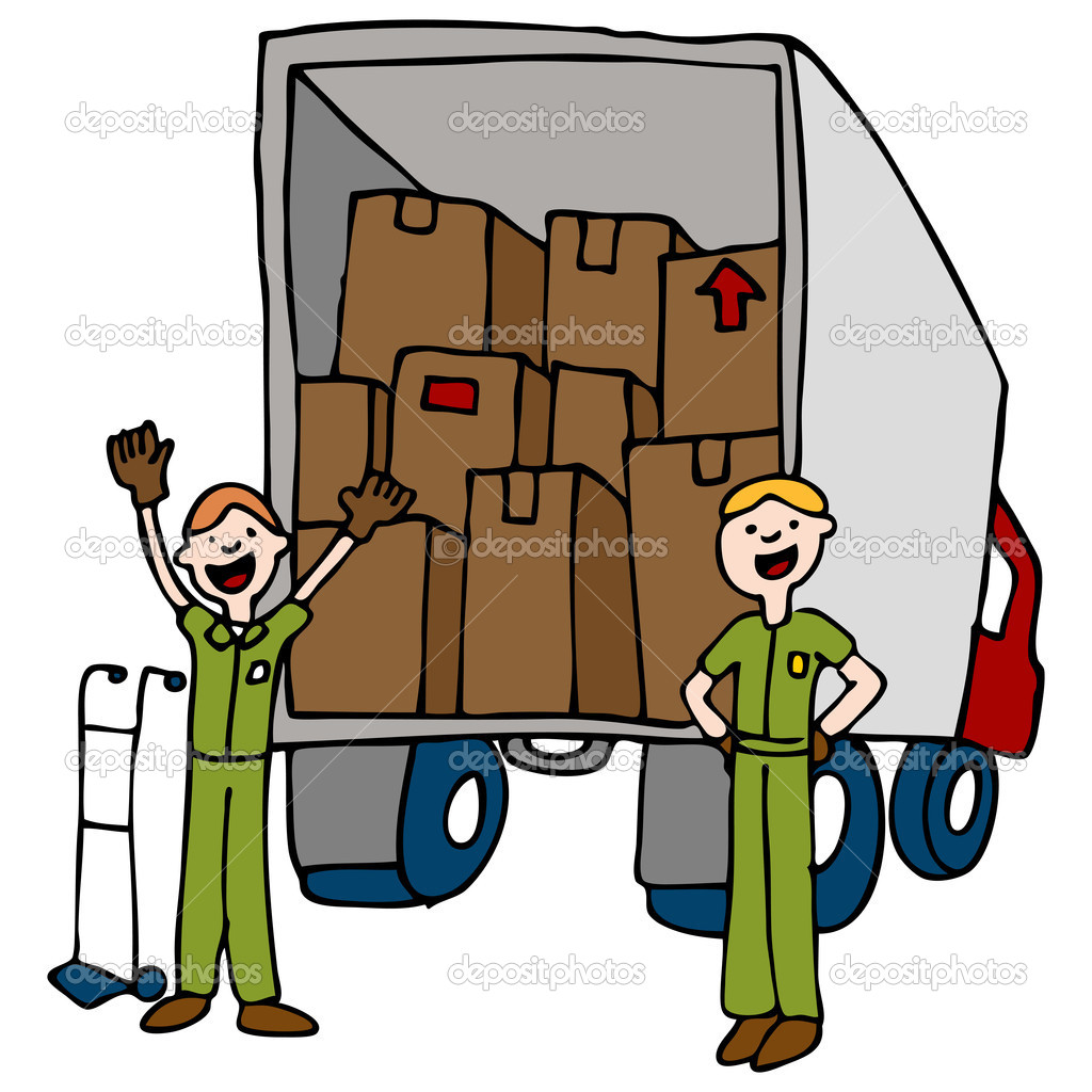 Moving Men Clipart.