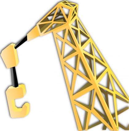Overhead Crane Clip Art.