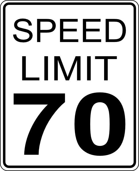 Speed Limit clip art Free vector in Open office drawing svg ( .svg.