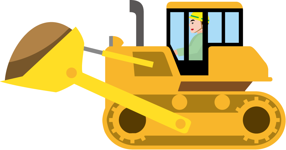 Caterpillar Inc. Bulldozer Loader Clip art.