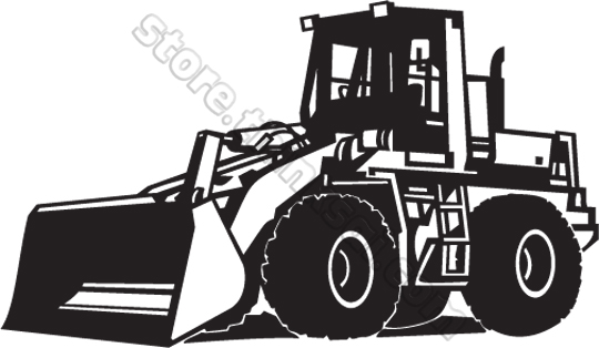 Loader Truck Clipart.