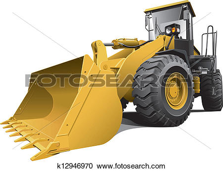 Front loader Clipart Royalty Free. 696 front loader clip art.
