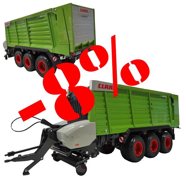 USK 30022 Claas Cargos 8500 Tridem Loader Wagon 1/32.