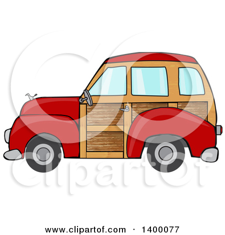 Man Driving a Chevy Pickup Truck in the Snow Clipart Picture by.