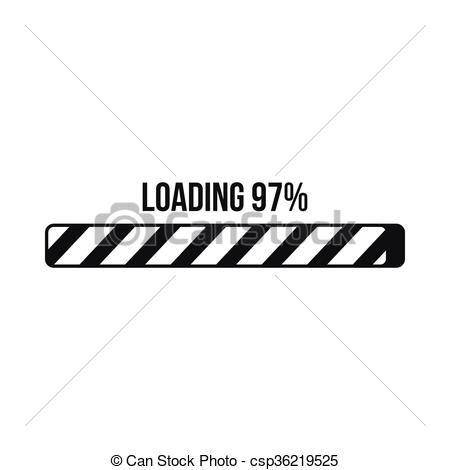 Loading bar clipart 3 » Clipart Station.
