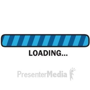 Loading bar clipart.