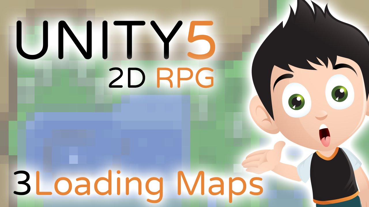 2D RPG Loading Maps.