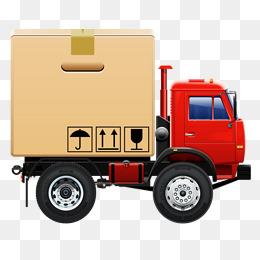 Goods Truck Clipart.
