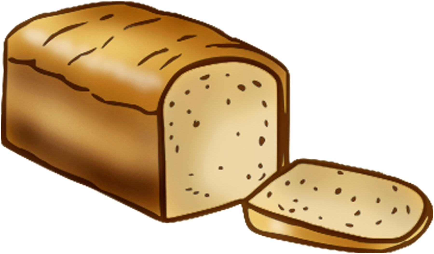 Loaf bread clipart 5 » Clipart Station.