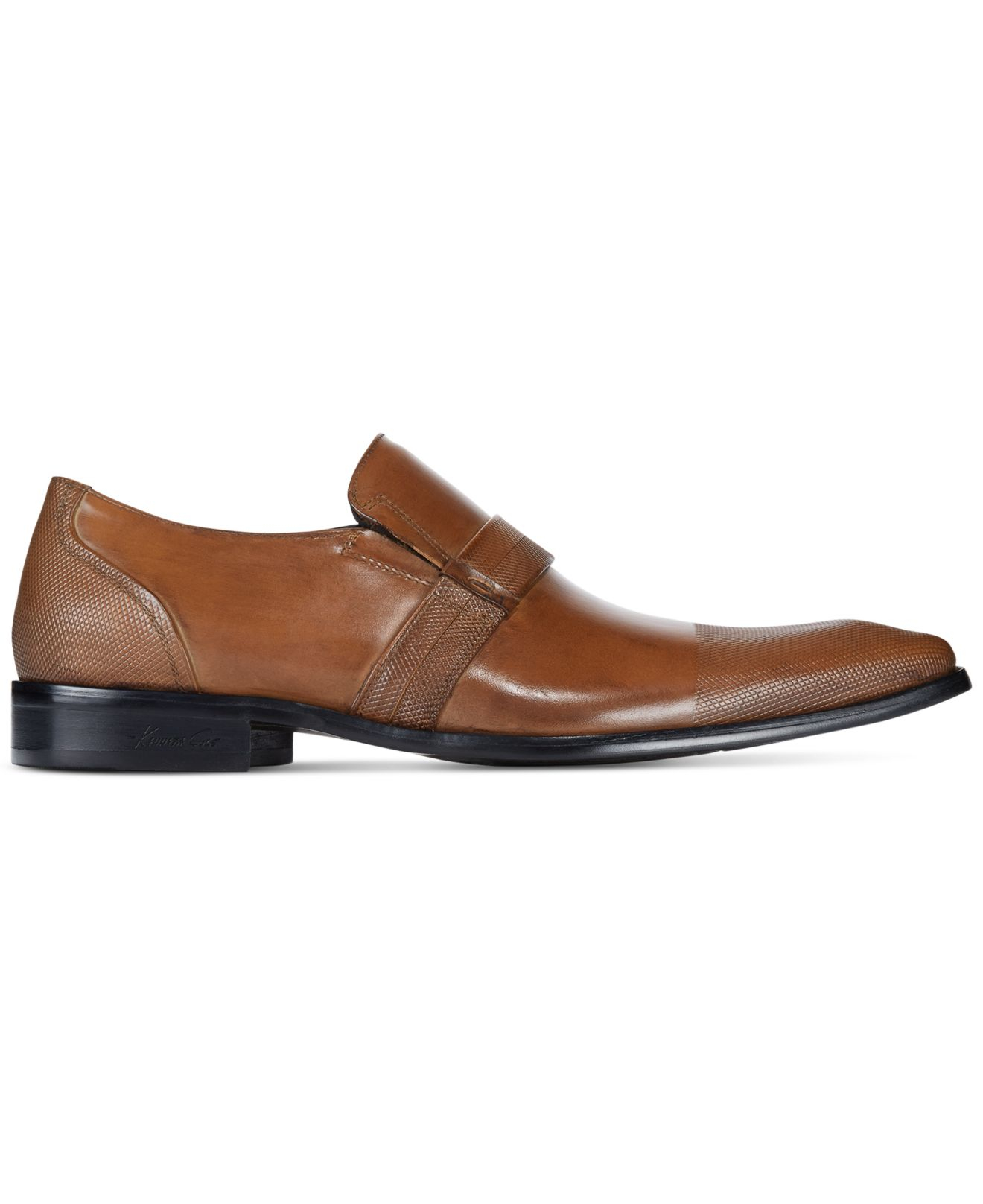 Kenneth cole Clip Art Loafers in Brown for Men.