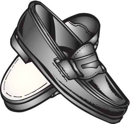 Loafer Clip Art, Vector Images & Illustrations.