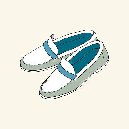 Loafer clipart.
