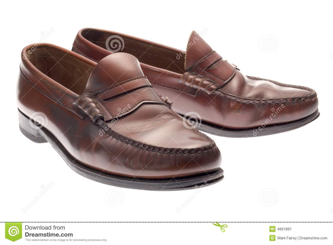 Penny Loafers Stock Image.