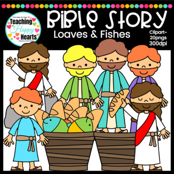 Loaves & Fishes Clipart.