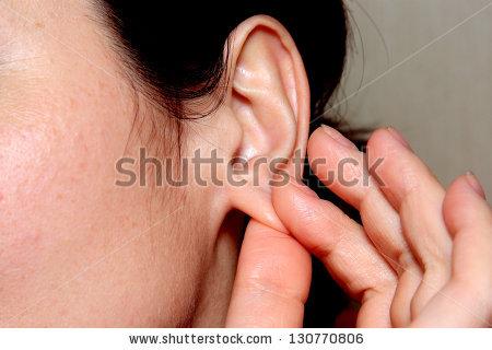 Ear Lobe Stock Photos, Royalty.