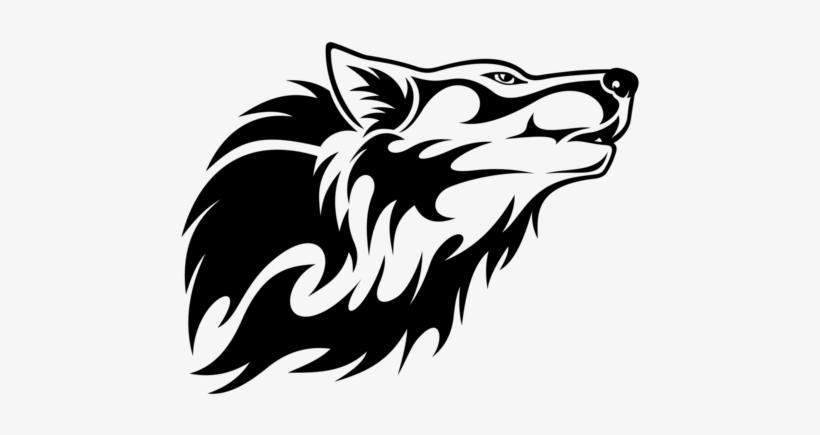 Wolf Head Vector Clipart.
