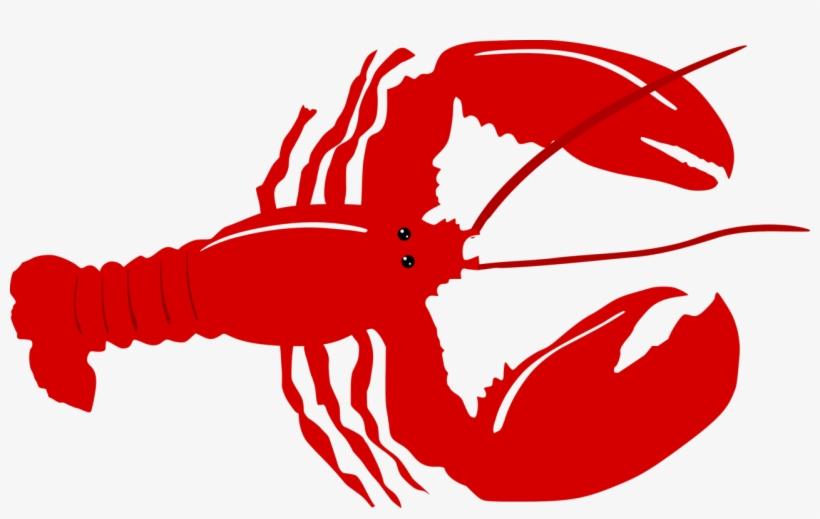 Transparent Background Lobster Clipart.
