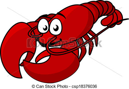 676 Lobster free clipart.