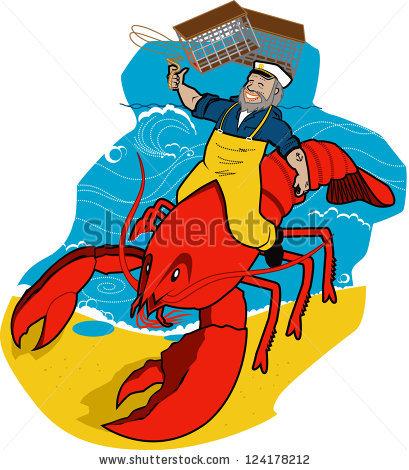 Lobster Trap Stock Photos, Royalty.