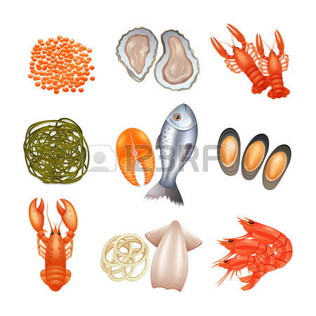 797 Seafood Industry Stock Vector Illustration And Royalty Free.